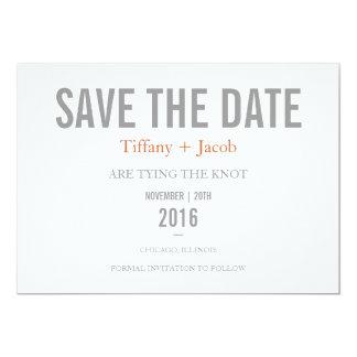 日付の招待|文字を入れる2を救って下さい カード