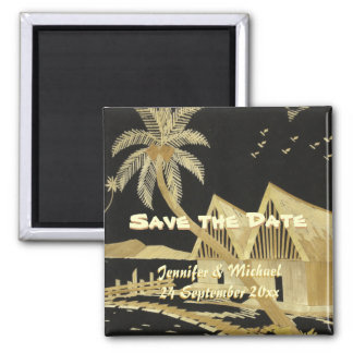 日付の熱帯行先の結婚式を救って下さい 磁石