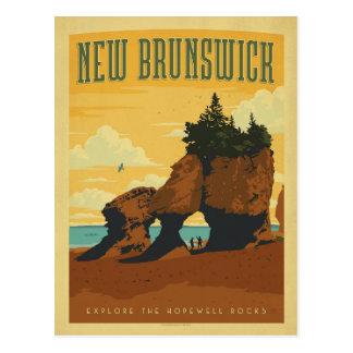 日付|ニューブランズウィック、カナダを救って下さい ポストカード