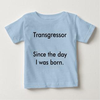 日以来の侵犯者、私は生まれました ベビーTシャツ