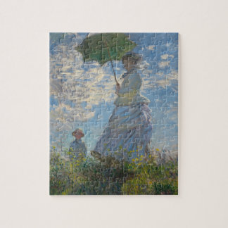 日傘を差す女(モネ夫人) ジグソーパズル