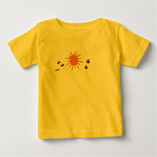 日光および生き物 ベビーTシャツ