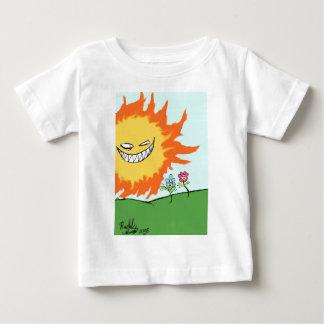 日光および花 ベビーTシャツ