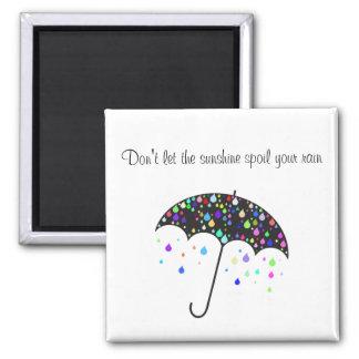 日光があなたの雨-磁石--をだめにしないために注意しないで下さい マグネット