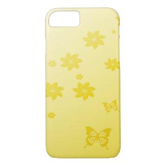 日光によってはnの蝶が開花します iPhone 8/7ケース