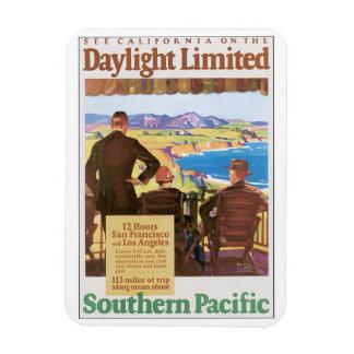 日光によって限られるヴィンテージ旅行ポスターアートワーク マグネット