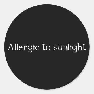日光にアレルギー ラウンドシール