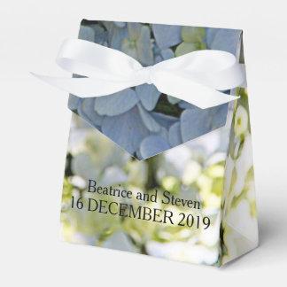 日光のアジサイの結婚式の引き出物箱 フェイバーボックス