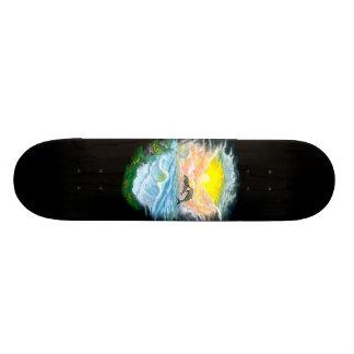 日光のイルカを遊ぶこと スケートボード