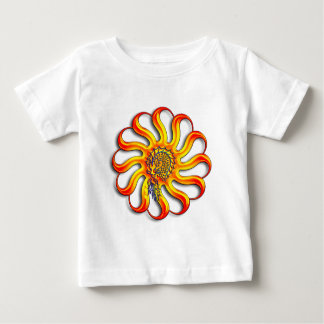 日光のドラゴン ベビーTシャツ