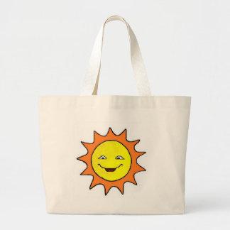 日光のバッグ ラージトートバッグ