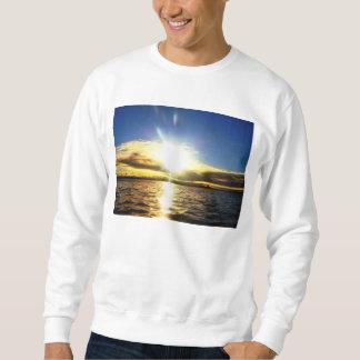 日光のビーチ スウェットシャツ