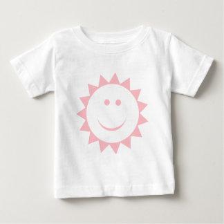 日光のピンク ベビーTシャツ