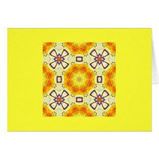 日光の万華鏡のように千変万化するパターン カード