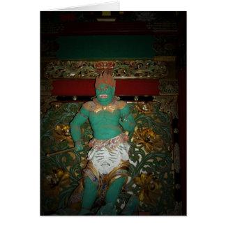 日光の寺院の保護者 カード
