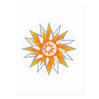 日光の星 葉書き