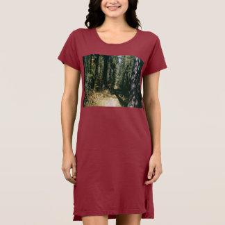 日光の森林道 ドレス