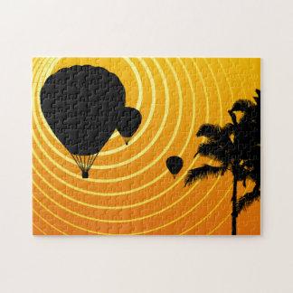 日光の熱気の気球 ジグソーパズル
