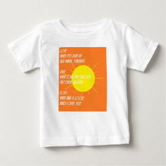 日光の詩歌 ベビーTシャツ