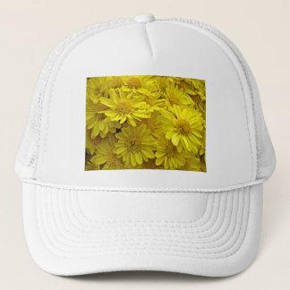 日光の黄色い菊 キャップ