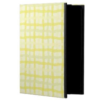 日光の黄色いiPadの箱-ギンガム iPad Airケース