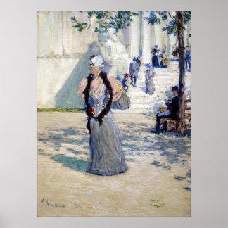 日光のChilde Hassamの姿 ポスター