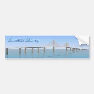 日光のSkyway橋: タンパベイ: バンパーステッカー