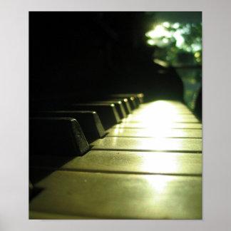 日光ポスターのピアノ ポスター