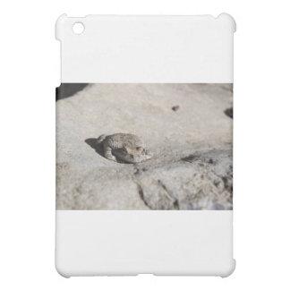 日光浴をするヒキガエル iPad MINIケース