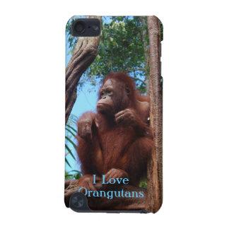 日光浴をする雨林-オランウータンの例 iPod TOUCH 5G ケース