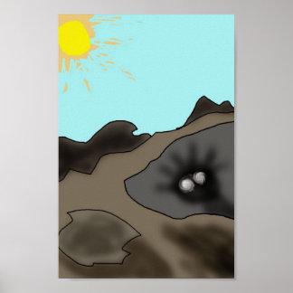 日光無しの男の子 ポスター