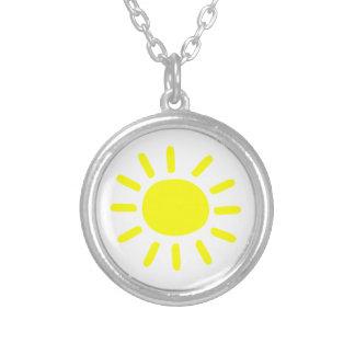 日光 シルバープレートネックレス