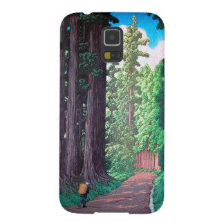 日光Hasu Kawaseの森林向こうずねのhanga場面への道 Galaxy S5 ケース