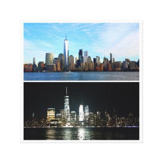 日夜ニューヨーク キャンバスプリント