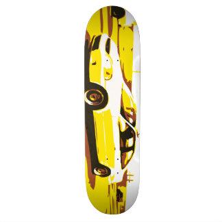 日夜車シリーズ。 デッキ1 オリジナルスケートボード