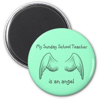 日曜学校の先生の磁石 マグネット