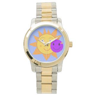 日曜日およびスマイリー 腕時計