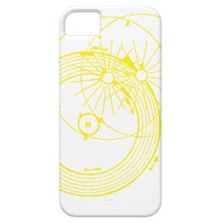 日曜日および月軌道Zetetic天文学 iPhone SE/5/5s ケース