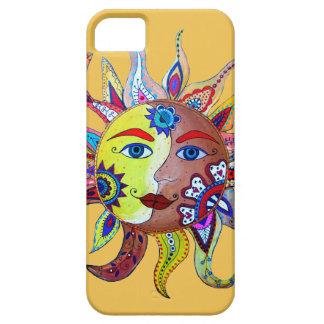 日曜日および月- LAのルナEL SOL iPhone SE/5/5s ケース