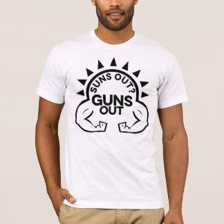 日曜日か。  銃! Tシャツ