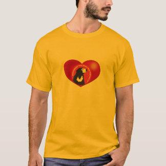 日曜日くまのための英雄があって下さい Tシャツ