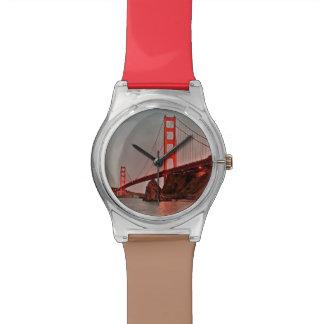 日曜日のゴールデンゲートブリッジ 腕時計
