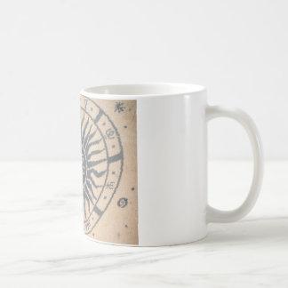 日曜日のタペストリー コーヒーマグカップ