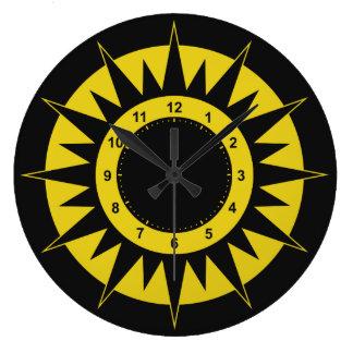 日曜日のダイヤルの柱時計 ラージ壁時計