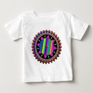 日曜日のチャクラ-エネルギー紋章 ベビーTシャツ