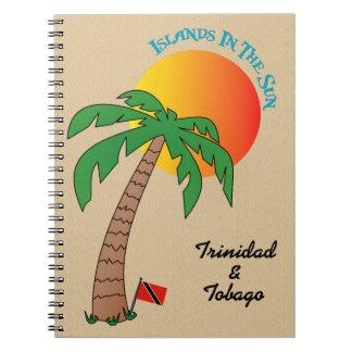 日曜日のトリニダードトバゴの島 ノートブック