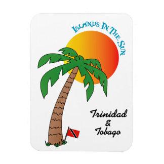 日曜日のトリニダードトバゴの島 マグネット