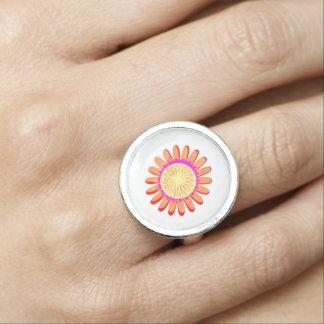 日曜日のヒマワリのチャクラの輝きエレガントなNVN622 指輪