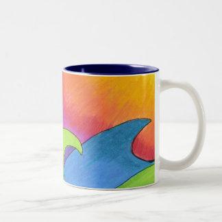 日曜日のマグの燃焼 ツートーンマグカップ