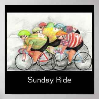 日曜日の乗車 ポスター